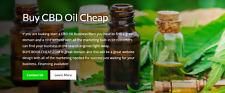 Buycbdoilcheapcom Domain Amp Wordpress Website For Sale With Marketing 1 Year