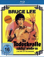 BRUCE LEE - Die Dragon batte wieder zu - Uncut CHUCK NORRIS BLU-RAY nuovo