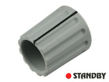 2pcs Classic collet knob 14,5 mm matt gray, ELMA 021-3315, Shaft 4mm, ROHS