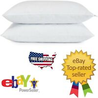 Serta Gel Memory Foam Cluster Classic Standard Bed Pillows 2-pack Free Shipping