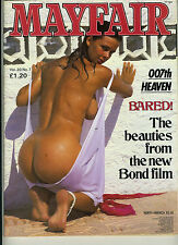 (124A) Vintage MAYFAIR MAGAZINE Volume 20 N° 7 Mens adult glamour