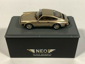 NEO SCALE MODELS 43241 Porsche 911 Carrera Coupé USA 1/43 Miniature Collection