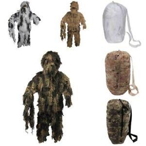 Costume de Camouflage Ghillie Suit Pantalon Veste Chapeau Ignifuge Sniper