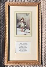 The SnowDrop Fairy Cicely Mary Barker Glazed Framed Print