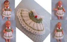 Kleidchen   für Püppchen 6-7,5 cm