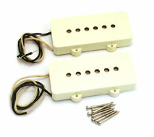 Genuine Fender Pure Vintage '65 Jazzmaster Guitar Pickups Set - AGED WHITE