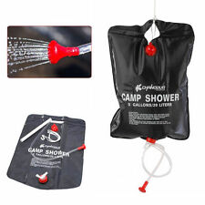 20L Solar Outdoor Portable Camping Shower Showering Water Heater Heating Bag 1X