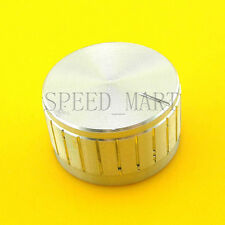 Aluminum Knob 30*17mm Cap Rotary Switch CD Player Volume Pointer Hole 6mm