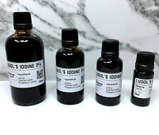 Lugols IODINE Solution - Choose Strength and Size - Original Formula