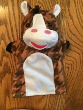 Hand Puppet Melissa & Doug Farm Friends Horse Toy