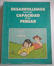 Desarrollemos Nuestra Capacidad para Pensar / Manual de Ejercicios / Libro 1991
