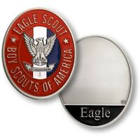 Boy Scout Official Eagle Scout Challenge Coin BSA Highest Award Engravable New