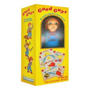 """Super7 Child´s Play - Good Guy Chucky in Box NYCC 3.75"""" Action Figure - IN STOCK"""