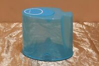 Tupperware New Extra Large Modular Mates Flip Up Lid Cereal Container Blue color