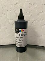 250ml Refill Bulk Black Ink for All HP Canon Dell Brother Printers 10oz Syringe
