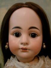"Antique 19"" Sonneburg German doll for French market"