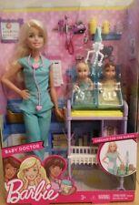 Barbie Baby Doctor Playset, Careers, Twins, Nurse new
