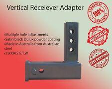 Vertical Receiver Adapter Tow Bar Hitch BMW MAZDA VW SKODA BIKE CARRIER RACK