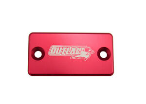 Outlaw Racing OR104R Billet Front Brake Cap Red SUZUKI RM100 RM85 RM80 RM65