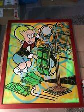 Original Dillion Boy Canvas Painting Alec Monopoly