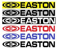 "Easton  9"" x1.5"" Bike Vinyl decal weather proof 2 frame stickers many colors"