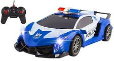 Sale RC Police Car truck Remote Radio Control Toy Super Exotic Police Headlights