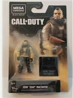 Mega Construx Call of Duty Black Series - John Soap MacTavish