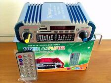 AMPLIFICATORE 100 WATT + RADIO FM + MP3+SPETRO EQUALIZZATORE E T.COMANDO