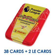 2019-20 PANINI ADRENALYN PREMIER LEAGUE POCKET TIN 6 PACKS+ 2 LE TOTAL 38 CARDS