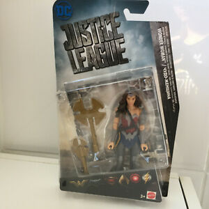 """Dc Justice League Wonder Woman 6"""" Movie Action Figure Toy With Accessories"""