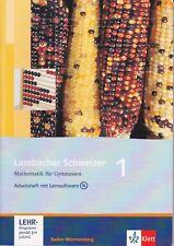 Arbeitsheft mit Lernsoftware Mathematik G Lambacher Schweizer 1 Kl 5  3127343595