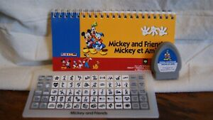 Cricut Cartridge - DISNEY'S MICKEY AND FRIENDS - Used - No Box