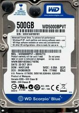 WD5000BPVT-00HXZT3 DCM: HAOTJHN WXK1A Western Digital 500GB