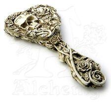 Mirror Fate of Narcissus Alchemy England Hand Mirror Skulls Wicca Pagan Decor V9