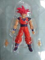 Bandai Dragonball Z DBZ Hybrid Action Figure Super Saiyan Shodo Neo Goku God