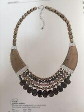 Silpada Grandeur .925 Hematite Pyrite,Enstatite & Quartz Necklace N2928