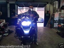 KIT MOTO H7 LED ADATTO x BMW GS 1200 650 750 ANABBAGLIATE+ABBAGLIANTE FARO BIANC