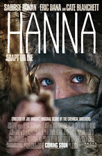 Hanna Advance Promotional Movie Poster Saoirse Ronan