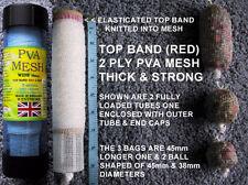 PVA MESH 38mm Tube OFFER 40 OR 45 Metres Make PVA BAGS