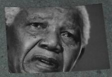 "Nelson Mandela promotional Postcard - The ""Greatest Series"" - Social Heroes"