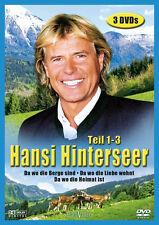 3 DVDs * HANSI HINTERSEER BOX 1 - TEIL 1 - 3 # NEU OVP %
