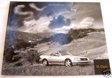 2000 mercedes sl500 sl600 owners sales brochure w129 sl500 sl600 original new