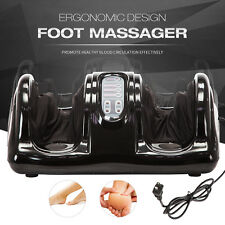 Shiatsu Foot Massager Kneading and Rolling Leg Calf Ankle Home Relax Black