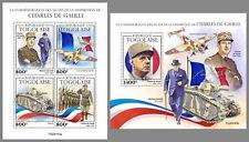 TOGO 2020 ** Charles de Gaulle Winston Churchill #22-163baB