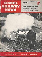 MODEL RAILWAY NEWS  MAGAZINE - JUNE 1955