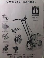 Sears Db David Bradley Handiman Tractor Owner Amp Parts Manual 91760114 91760115