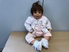 Monika Levenig Vinyl Puppe 63 cm. Top Zustand