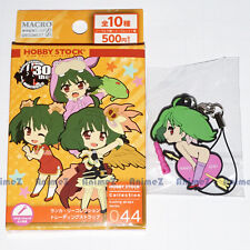 Macross 30th Anniversary rubber mascot clip strap - Ranka Lee nose art version