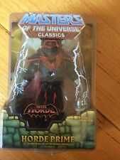 MOTU Masters of The Universe Classics Horde Prime Complete He-man W Staff