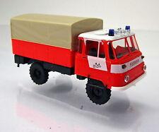 """Busch MCZ 03-169 IFA Robur Lo 2002 Feuerwehr """" Feuerwehr Erfurt """" leuchtrot"""